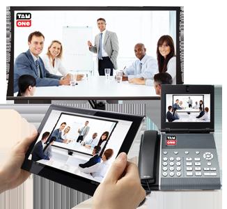 Video vergaderen via Tam One